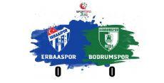 Erbaaspor 0 Bodrum Belediye Spor 0