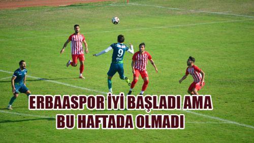 Erbaaspor 1-2 Nevşehir Belediyespor