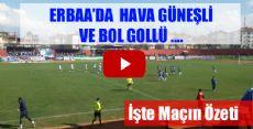 Erbaaspor 5-0 Fatsa Belediyespor