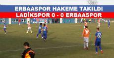 Erbaaspor Hakeme Takıldı