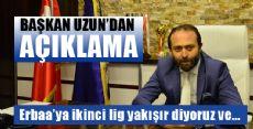 Erbaaspor Kulübü Başkanı Bülent Uzun'dan Açıklama