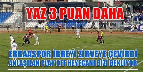 Erbaaspor: 2 - Orhangazi Belediyespor: 1