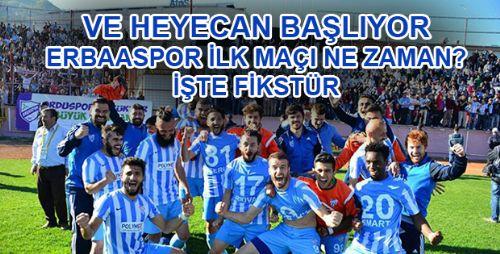 Erbaaspor - Fikstür 2018/2019
