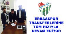Erbaaspor'da İlk Dış Transfer Gerçekleşti