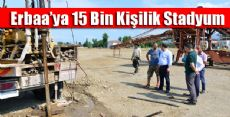 Erbaa'ya 15 Bin Kişilik Stadyum
