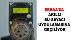 Erbaa'ya Akıllı Su Sayaç Sistemi Geliyor