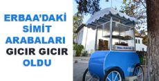 Erbaa'ya yeni simit arabaları