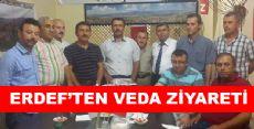 Erdef'ten Veda Ziyareti