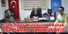 Erek Spor Kulübüne Başarılar Dileriz