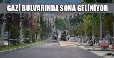 ERBAA Gazi Bulvarında Sona Geliniyor