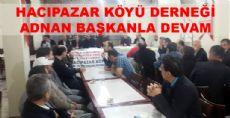 Hacıpazar Köyü Derneği Genel Kurulunu Yaptı