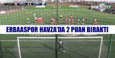 Havza Belediyespor - Erbaaspor