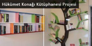 Hükümet Konağı Kütüphanesi Projesi