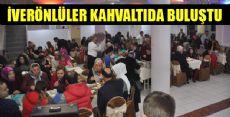 İVERÖNLÜLER KAHVALTIDA BULUŞTU