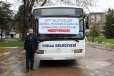 İett'den Erbaa'ya Otobüs