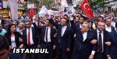 İzmir Büyükşehir Belediye Başkanı İstanbulda