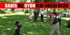 Jandarmanın Eğitimli Köpeklerinin Gösterisi Alkış Topladı