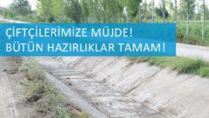 KANALLARA BUGÜN SU VERİLİYOR...