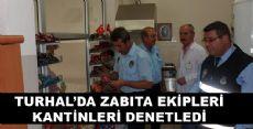 KANTİNLER DENETLENDİ