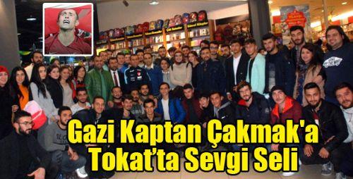 KAPTAN Gazi Osman Çakmak TOKAT'TA