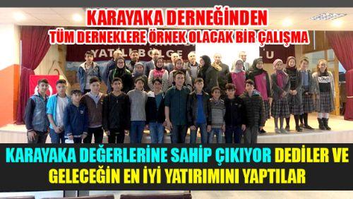 KARAYAKA KASABASI DERNEĞİ ÖYLE GÜZEL BİR PROJEYE İMZA ATTIKİ...