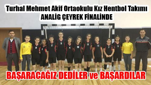 KIZLARIMIZ ANALİG'DE ÇEYREK FİNALDE...