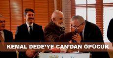Kemal Dede'ye Can'dan Öpücük
