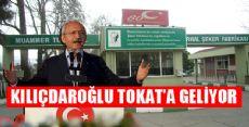 Kılıçdaroğlu Tokat'ta 'Şeker Çalıştayına' Katılacak