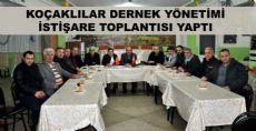 Koçaklılar Dernek Yönetimi İstişare Toplantısı Düzenledi