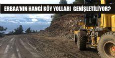 Köy Yollarında Çalışmalar Devam Ediyor