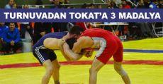 Kurtuluş Güreş Şampiyonasından Tokat'a 3 Madalya