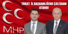 MHP DEPREMİ TOKAT'A DA SIÇRADI