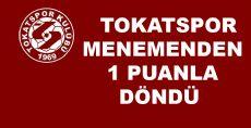 Menemen Belediye -Tokatspor Müsabakası