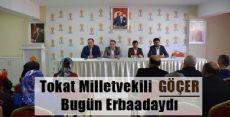 Milletvekili Göçer'in Erbaa Temasları