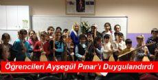 Miniklerden Ayşegül Pınar'a Duygulandıran  Sürpriz