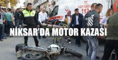 Motosiklet Yayaya Çarptı: 3 Yaralı