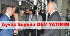 Niksar Ayvaz Suyuna DEV YATIRIM