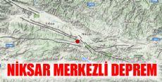 Niksar Merkezli Deprem