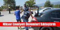 Niksar Polisinden Önlemler