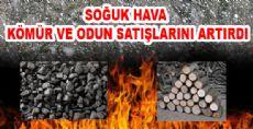 Niksar'da Kömür ve Odun Satışları Arttı
