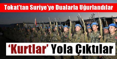 Niksar'dan Suriye'ye 180 Komando