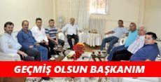 Nurhan Başkan'a Geçmiş Olsun Ziyareti