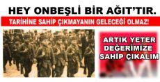 ONBEŞLİLER'İMİZİ KİMSEYE REKLAM ETTİRMEYİZ!