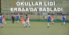 Okullar Ligi Erbaa'da Başladı
