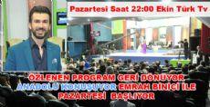 Özlenen Program Anadolu Konuşuyor Başlıyor