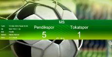 PendikSpor - Tokatspor  Maç Sonucu: 5-1