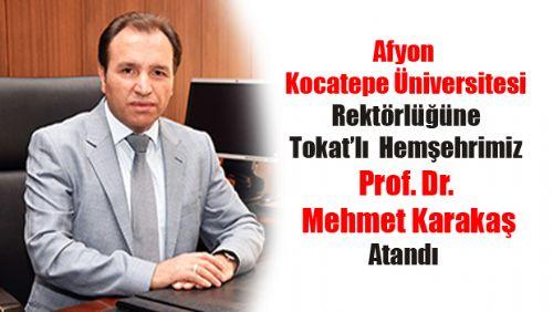 Prof. Dr. Mehmet KARAKAŞ KİMDİR?