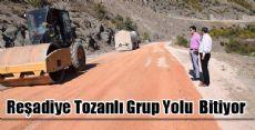 Reşadiye Tozanlı Grup Yolu 1 Milyon 207 Bin TL'ye Mal Oldu
