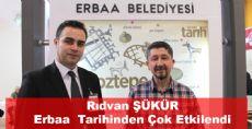 Rıdvan Şükür Erbaa Standını Ziyaret Etti