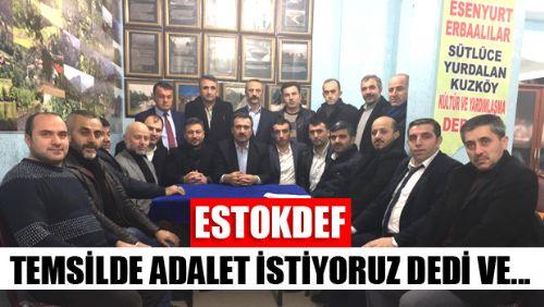 SEÇİMLERE DOĞRU TOKATLI STK'LAR SESİMİZE KULAK VERİN DEDİ VE...